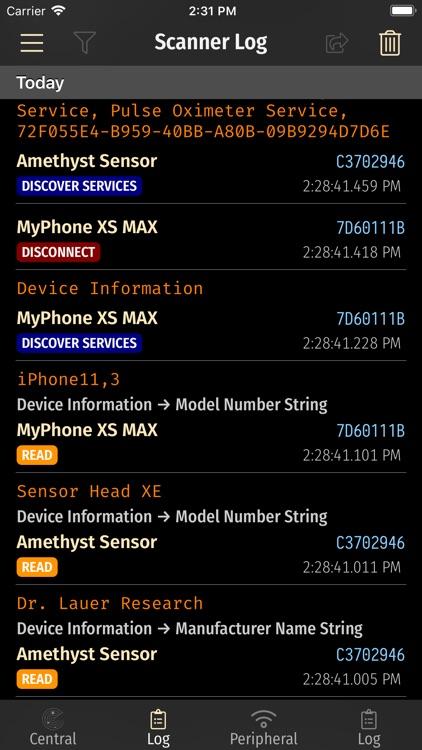 BLE Laboratory Pro screenshot-5