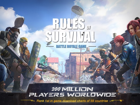 Rules of Survival на iPad