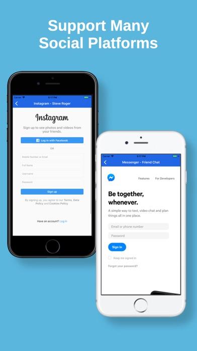 ดาวน์โหลด Multi Social: Multiple Account สำหรับพีซี