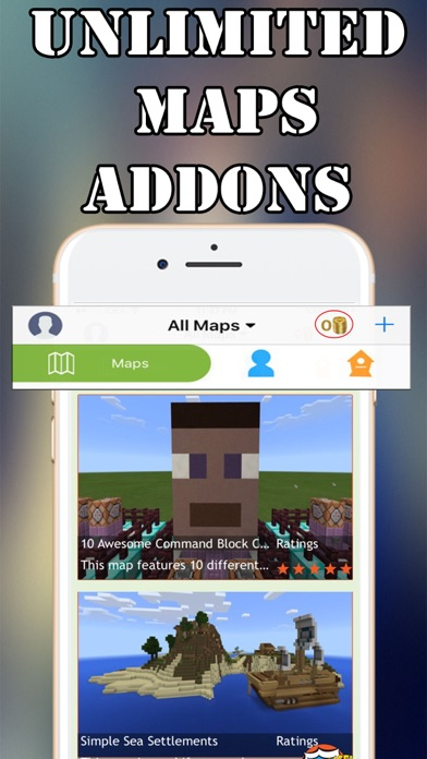 MCPE Addons,Maps for Minecraft by Jay Limbasiya (iOS, United States