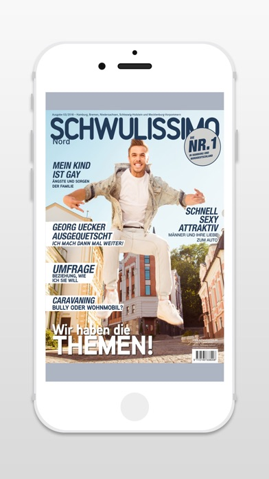 download Schwulissimo Nord - Magazin apps 1