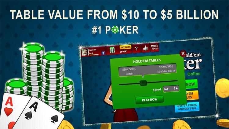 Texas Hold'em Poker Online screenshot-3
