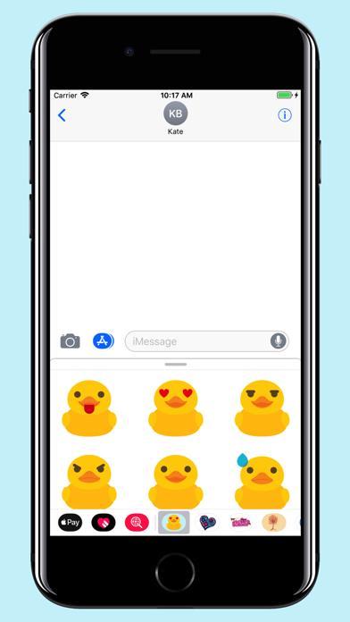 Rubber Duck - Emoji screenshot two