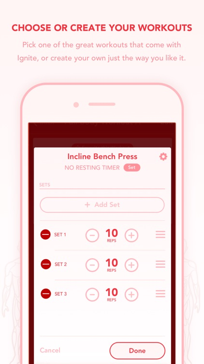 Ignite - Workout Tracker