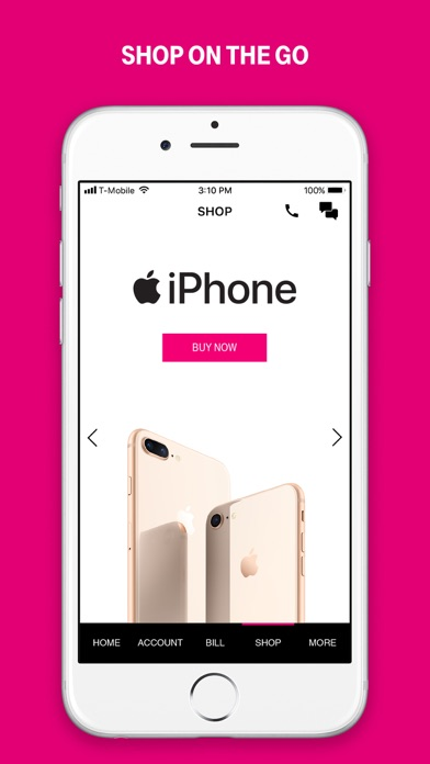 T-Mobile app image