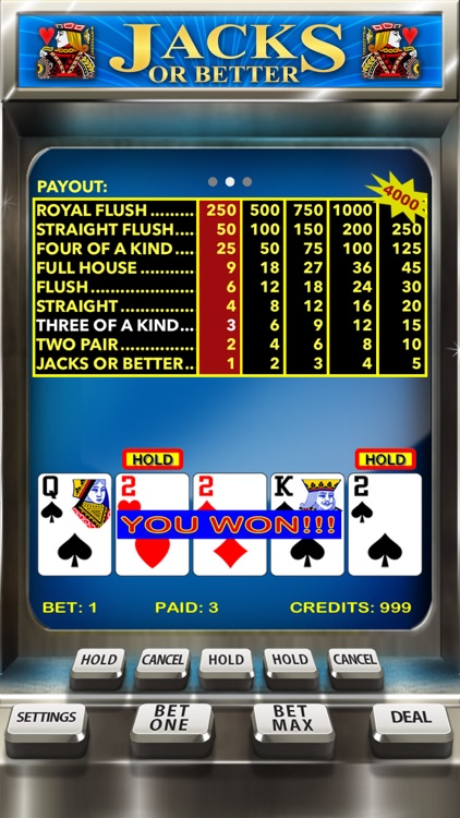 Video Poker Casino - Card Game