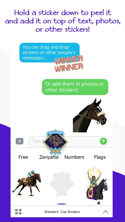 Breeders' Cup 2017 Stickers screenshot-3