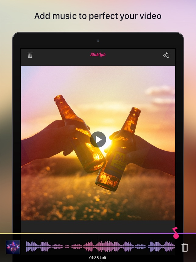 best app to make slideshow with music