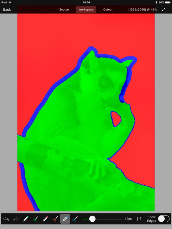 FluidMask Cutout Tool screenshot-3