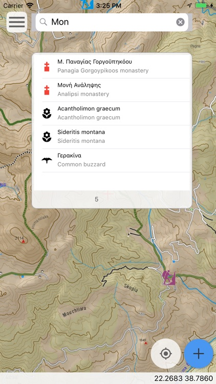 Oeta topoguide screenshot-8