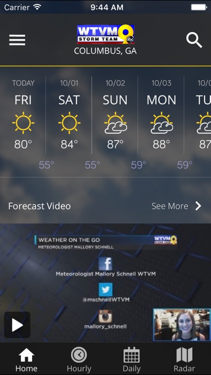 WTVM Storm Team Weather screenshot-3