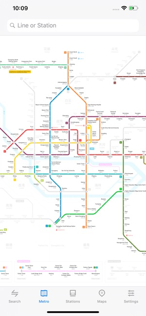 Guangzhou Subway Map 2017.Metro Guangzhou Subway On The App Store