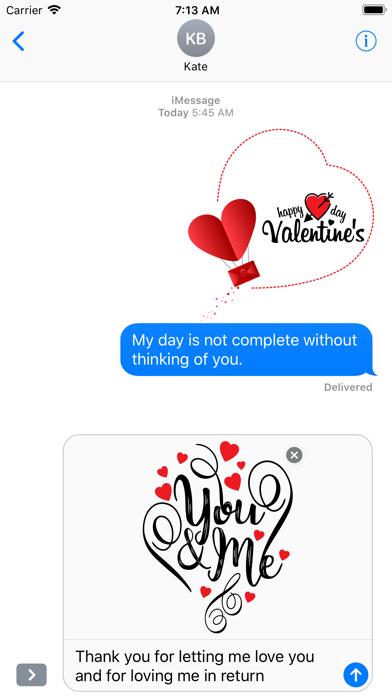 Love Stickers Valentine's Days screenshot 5