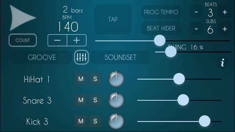 Super Metronome GrooveBox Lite