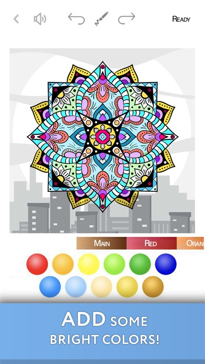 Colorist: lively coloring book