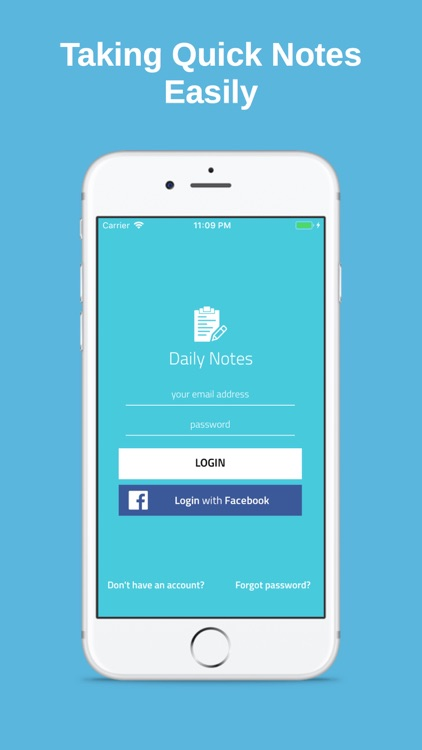 DailyNotes - Quick Note Taking