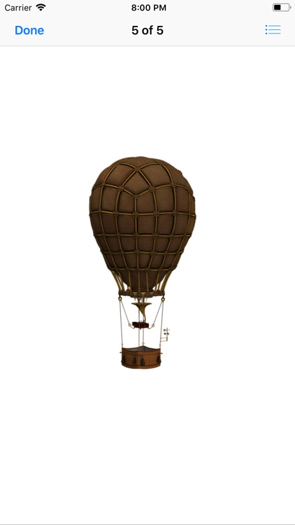 Vintage Hot Air Balloons screenshot-5