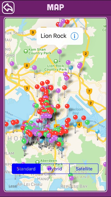 Hong Kong Offline Map Tourism Guide screenshot-3