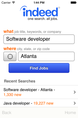 Indeed Job Search screenshot 1