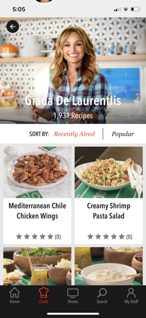 Food network in the kitchen on the app store forumfinder Images