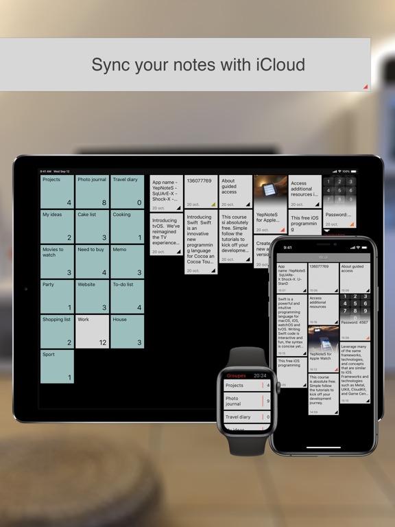 YepNoteS Screenshots