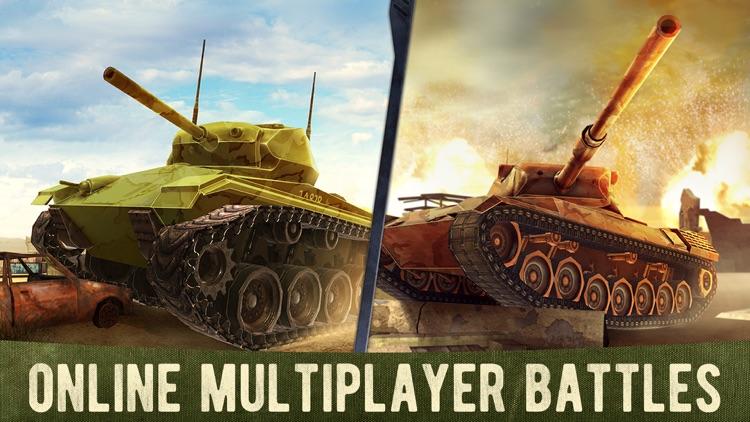 War Machines: 3D Tank Games