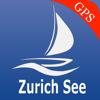 Zürichsee Greifensee GPS Karte