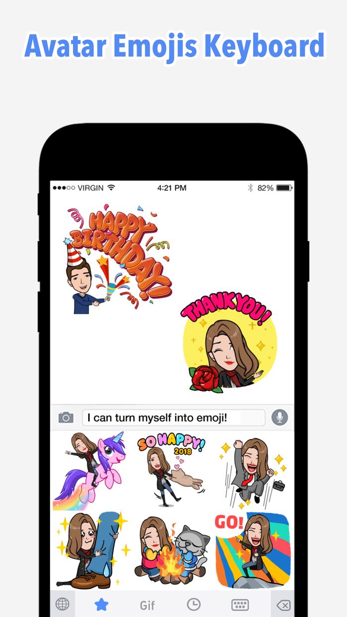 Emoji Me Keyboard | Zmoji Screenshot