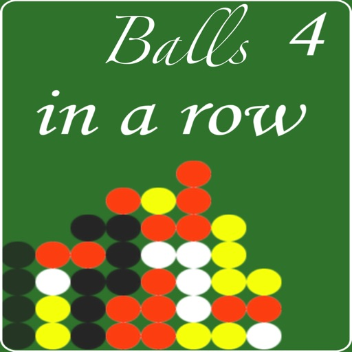 Balls 4 in a Row Game icon
