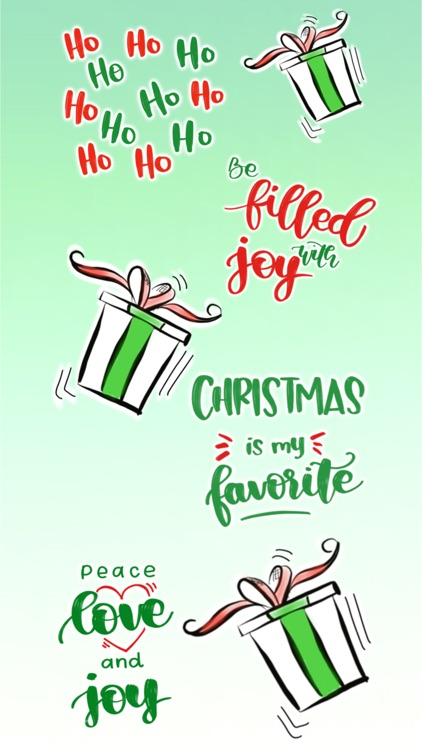 Christmas Calligraphy screenshot-7