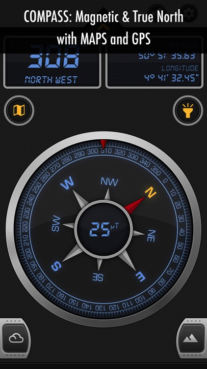 Compass X - GPS Magnetic North screenshot-4