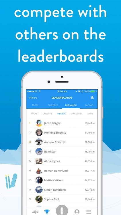 snoww: track your skiing screenshot-6