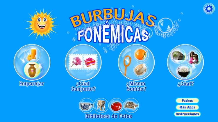 BURBUJAS  FONÉTICAS De Lujo screenshot-0