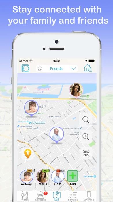 iMapp - Find my Phone, Friends for Windows