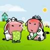 Stupid Cow Boy Couple Animated