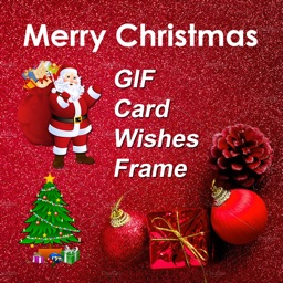 Merry Christmas Wishes & Frame