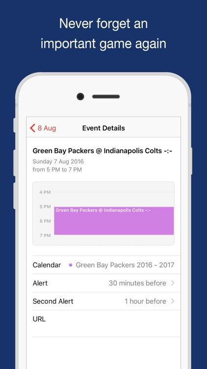 2018 Football Schedules screenshot-3