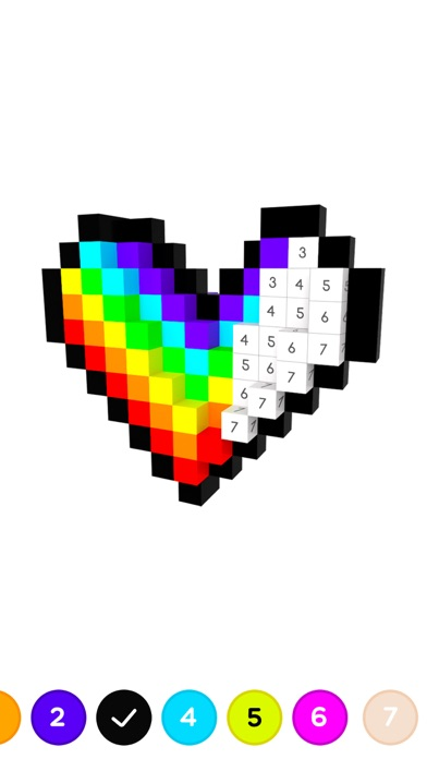 3D No.draw - Colors by number screenshot 2