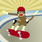 猴子街头滑板跑酷 icon