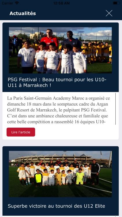 PSG Academy Maroc screenshot-4