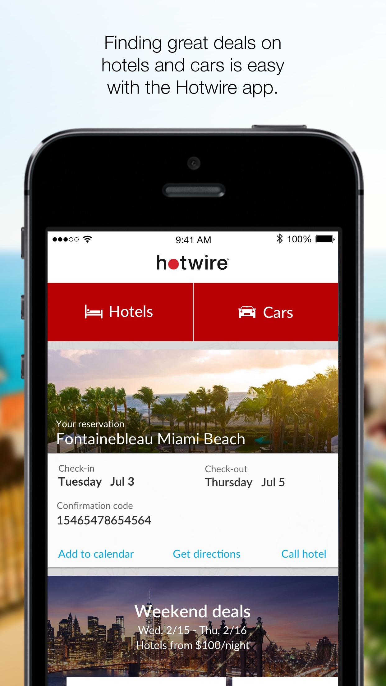 Hotwire Screenshot
