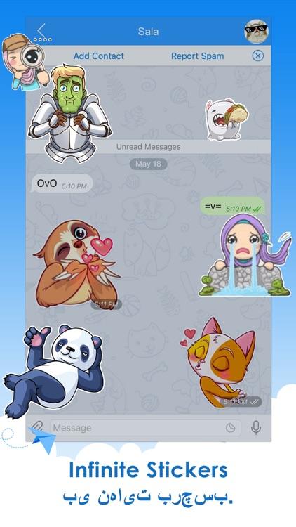 Telepal for Telegram Messenger - تلگرام پیشرفته