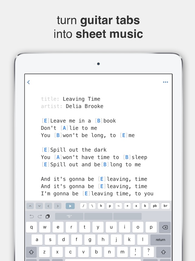 TabBank - Guitar Tabs and Chords on the App Store
