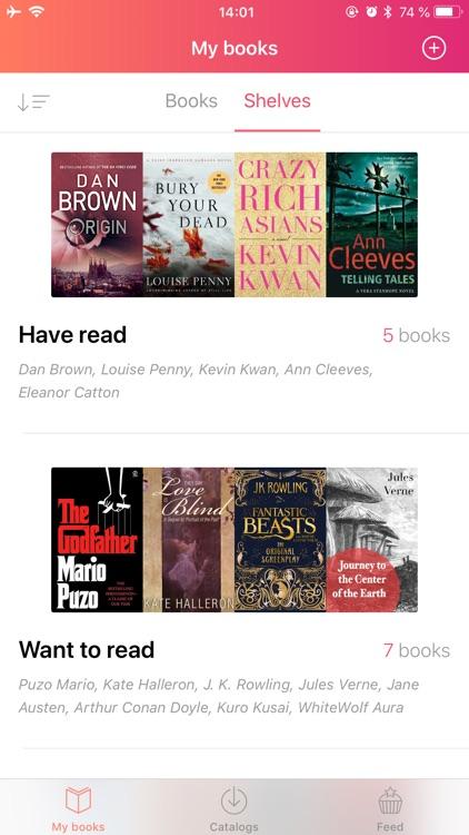 eBoox - book reader screenshot-3