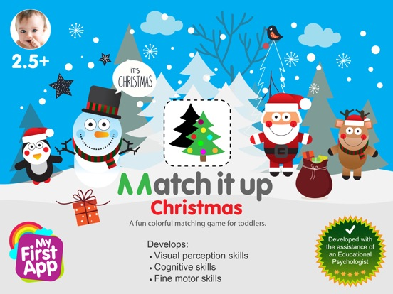 Match It Up - Christmas screenshot 6