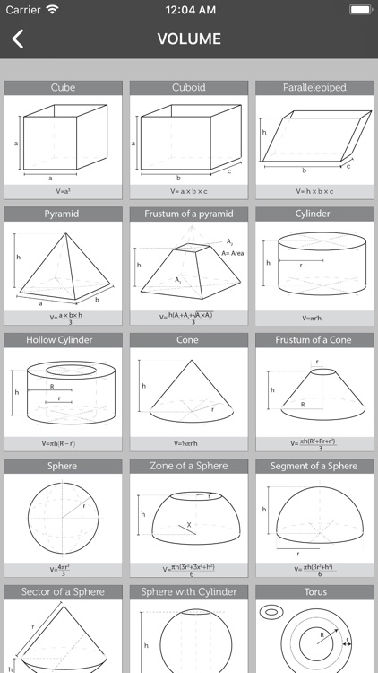 Math Formulas-X screenshot-4