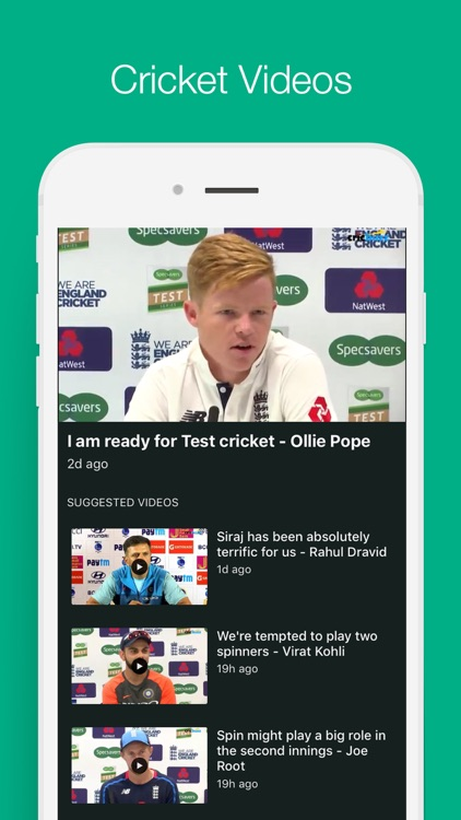 Cricbuzz Cricket Scores & News screenshot-3