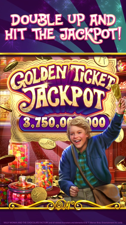 Willy Wonka Slots Vegas Casino screenshot-1