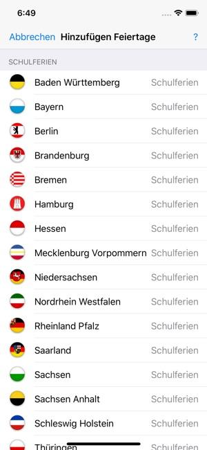 Deutsche Feiertage In Ipad Kalender