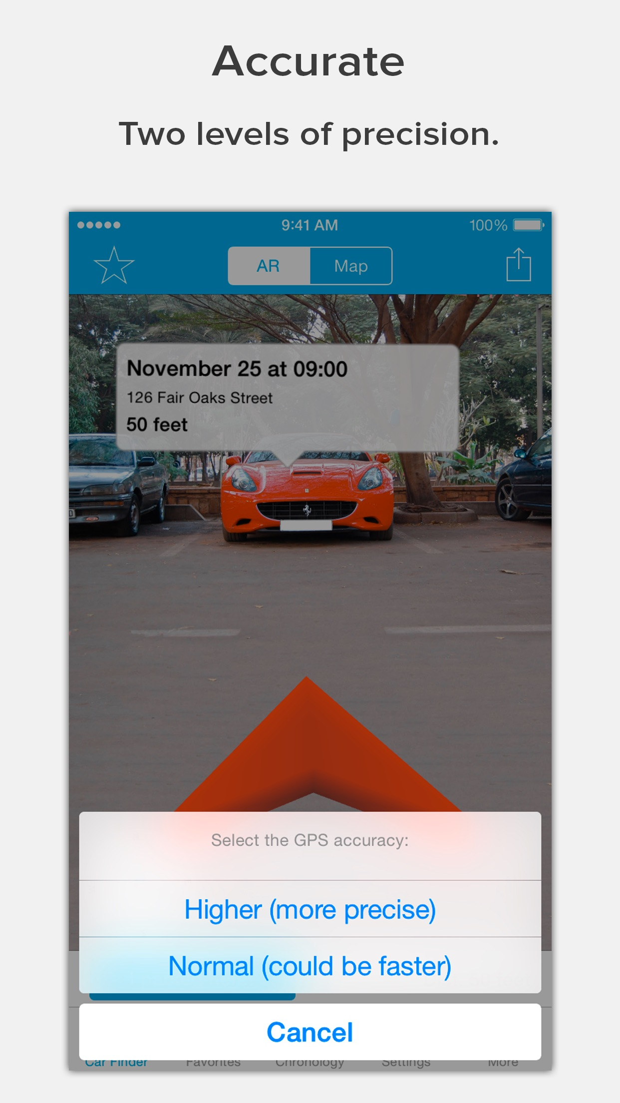 Find Your Car with AR Screenshot